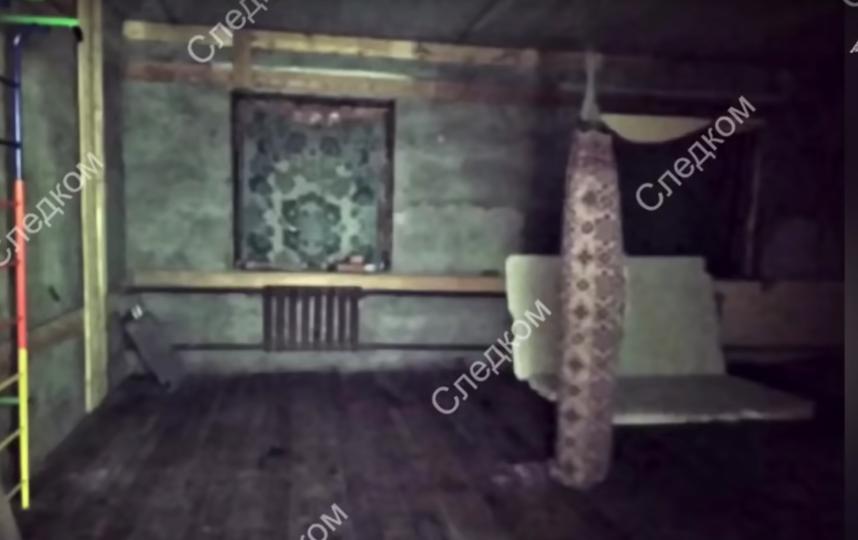 Оперативная съёмка СК РФ. Фото Скриншот Youtube