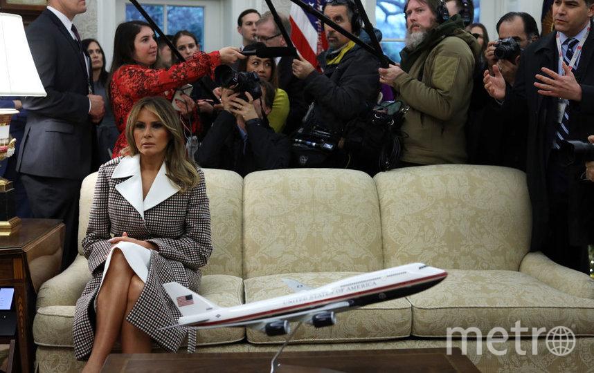 В Белом доме с визитом - президент Гватемалы и его жена. Фото Getty
