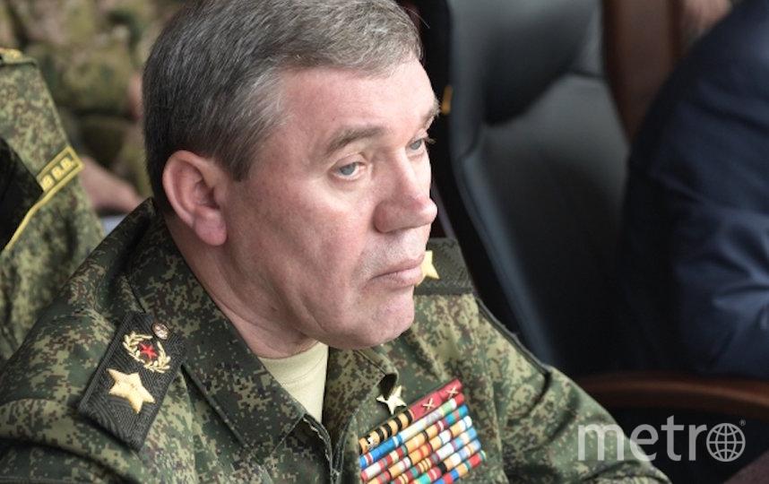 Валерий Герасимов. Фото РИА Новости