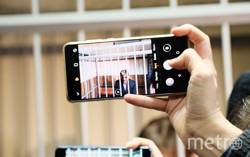 """Андрей Бовт в зале суда. Фото Алена Бобрович, """"Metro"""""""