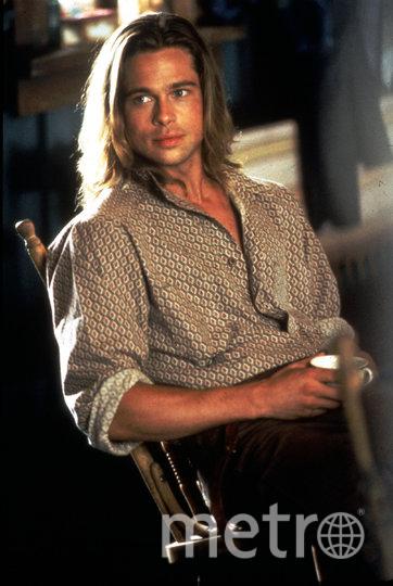 Брэд Питт в молодости. Фото Getty