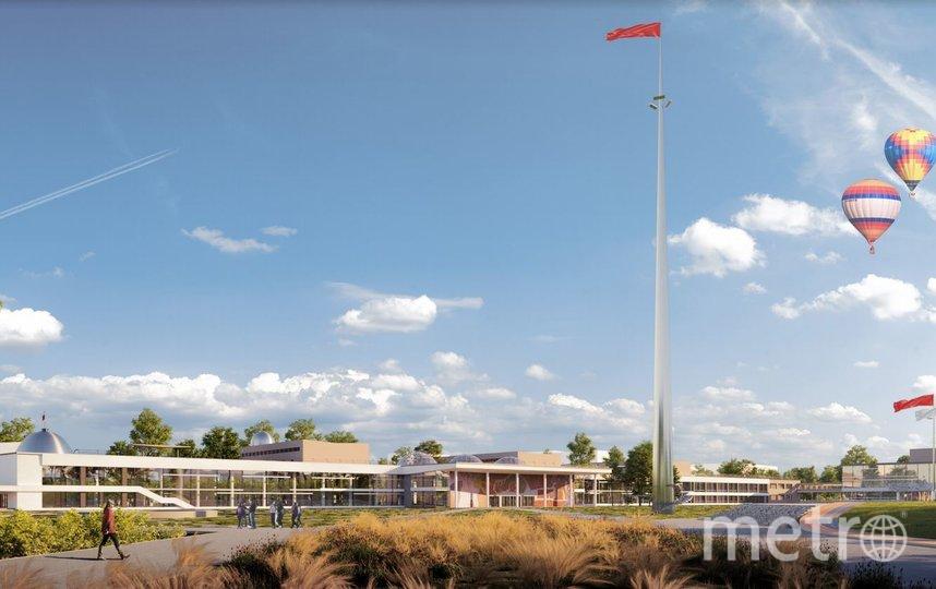 Проект. Фото Kleinewelt Architekten, предоставлено пресс-службой Москомархитектуры