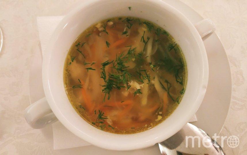 """Куриный суп с клецками. Фото Наталья Сидоровская, """"Metro"""""""