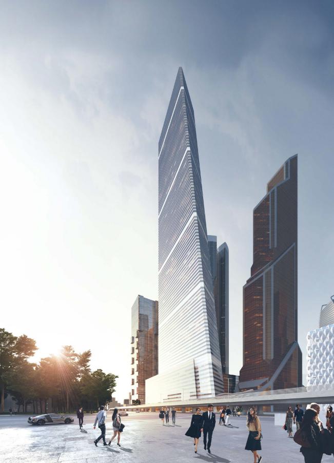 One Tower. Фото Скриншот http://www.skuratov-arch.ru/.