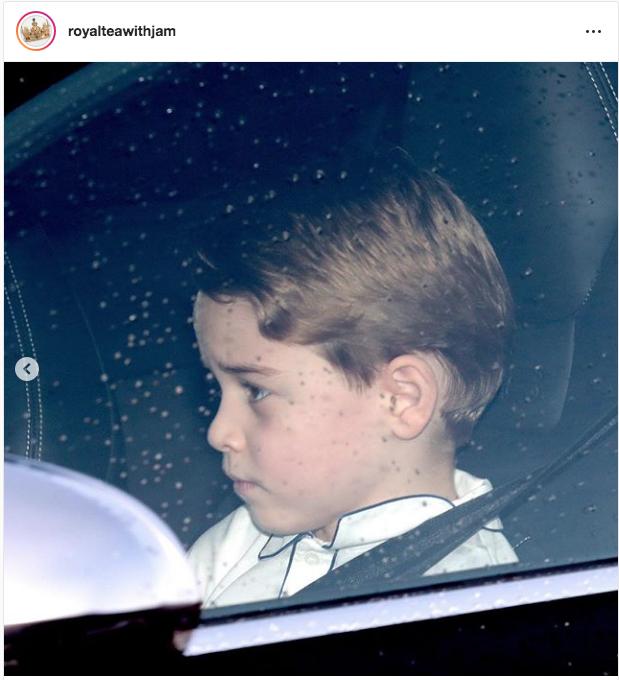 Принц Джордж. Фото https://twitter.com/KensingtonRoyal
