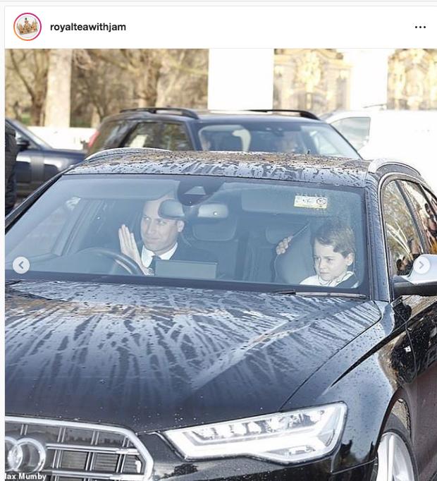 Принц Уильям с сыном Джорджем. Фото https://twitter.com/KensingtonRoyal