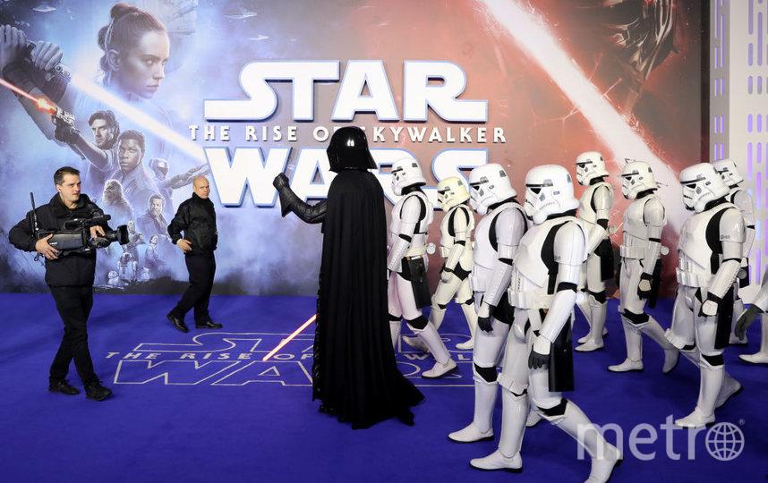 """Европейская премьера """"Звездных войн"""" в Лондоне. Фото Getty"""