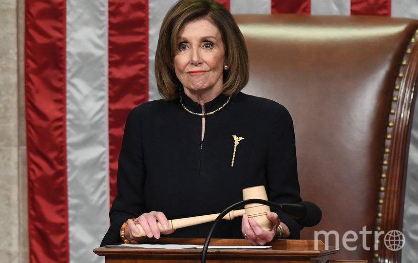 Спикер Палаты представителей Нэнси Пелоси. Фото AFP