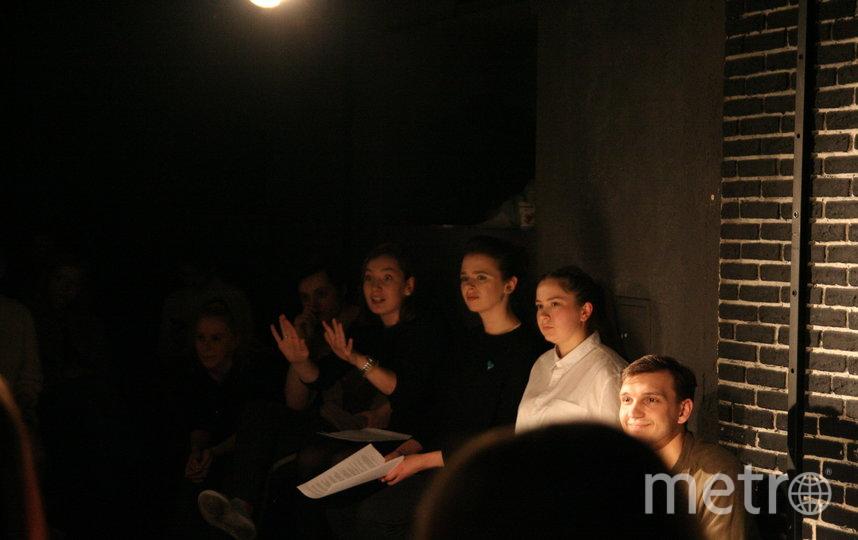 Актёры тоже принимали участие в дискуссии. Фото Ксения Марамзина