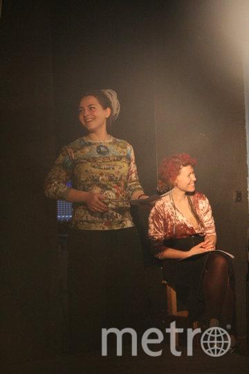 Режиссёр (слева) и психолог проекта. Фото Ксения Марамзина
