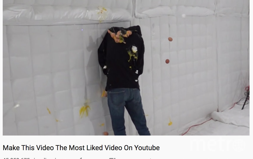 """MrBeast с видео """"Сделаем это видео самым популярным на YouTube"""" знает, о чём говорит. Фото скриншот, Скриншот Youtube"""