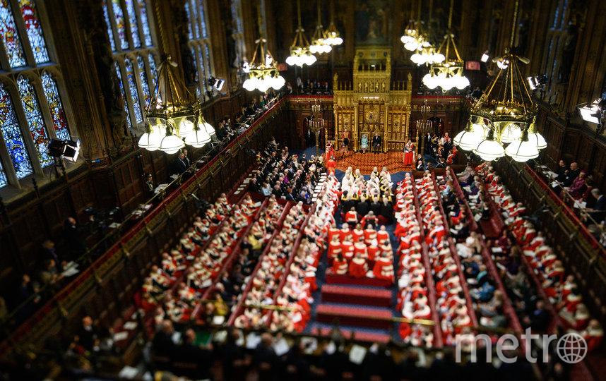 Елизавета II обратилась к парламентариям. Фото Getty