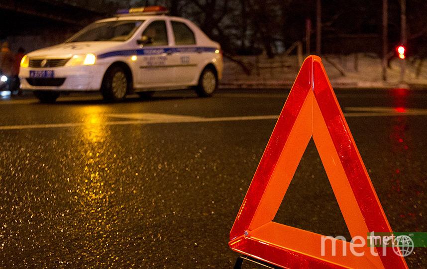 ДТП произошло в 18:50 (14:50) в Алейском районе. Фото Василий Кузьмичёнок