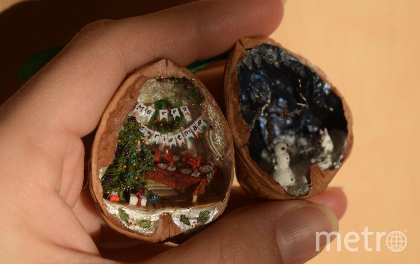 Используют орешки по-разному: кто-то – как ёлочную игрушку, кто-то ставит в шкаф любоваться. Фото предоставлено героем публикации