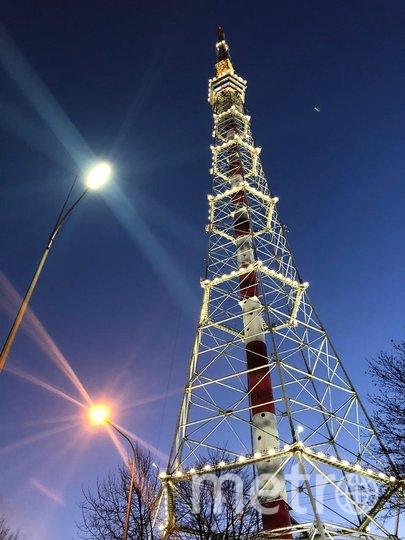 Петербургская телебашня после реставрации. Фото www.lensvet.spb.ru