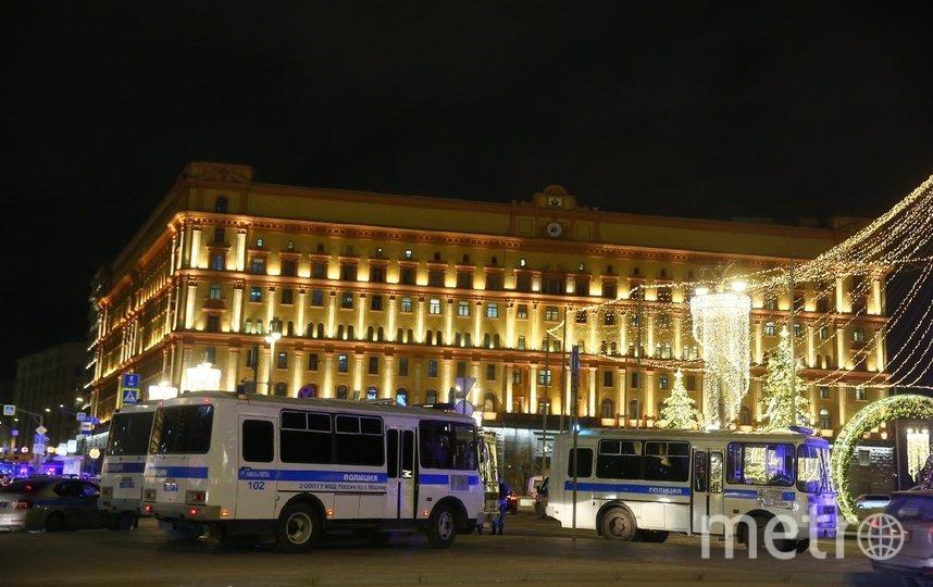 Здание ФСБ на Лубянке. Фото Василий Кузьмичёнок