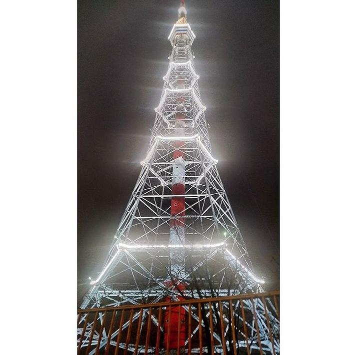 Петербургская телебашня. Фото появились в Сети. Фото Скриншот Instagram: @mariia_ms_photo