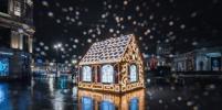 В центре Петербурга появился пряничный домик с дополненной реальностью