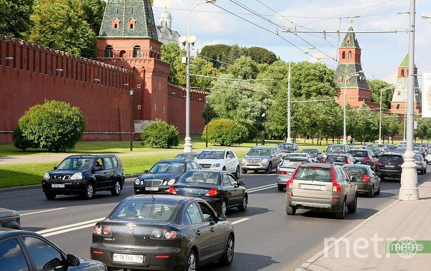 В полиции назвали самые популярные способы угона машин в Москве. Фото Василий Кузьмичёнок