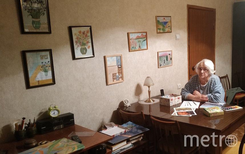 """Я тебе не бабушка и не прабабушка, я – художник и поэт"". Фото Зоз Нимфа Николаевна (88 лет), ""Metro"""