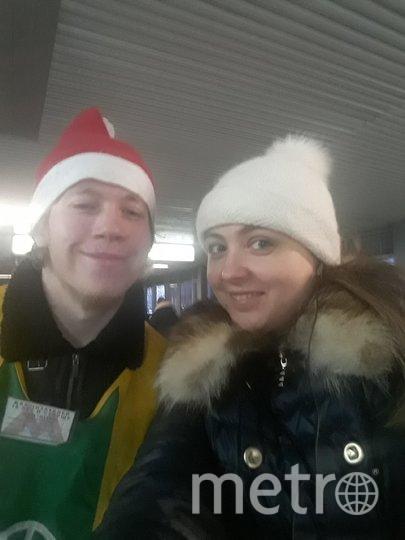 Эльф Саша, станция Балтийская (мцк). Фото читательница Metro Настя