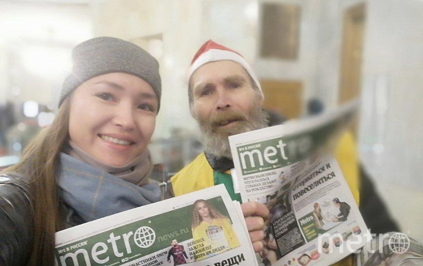 Эльф Алексей, станция Красные Ворота. Фото читательница Metro Анна