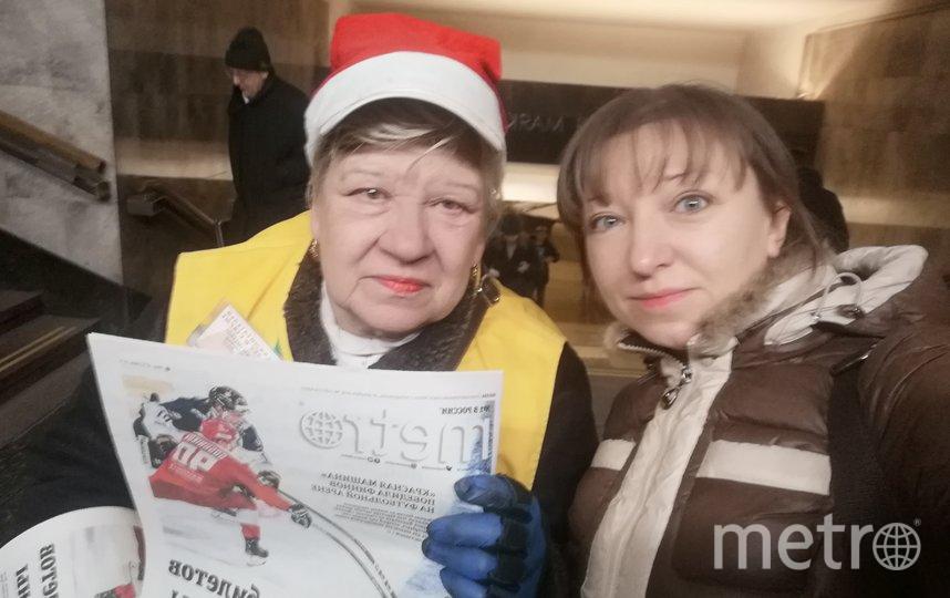Нина Григорьевна, станция метро Маяковская, выход 1. Фото читательница Metro Марина