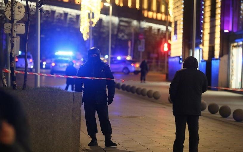 Стрельба произошла вечером 19 декабря у здания ФСБ России на улице Большая Лубянка. Фото Василий Кузьмичёнок