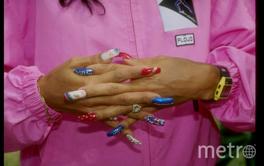 Знаменитые ногти Фло Джо. Фото Getty