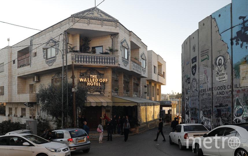 Отель The Walled Off Hotel. Фото AFP