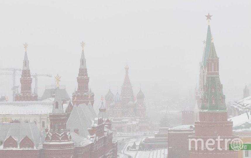 МЧС предупредило москвичей о тумане. Фото Василий Кузьмичёнок