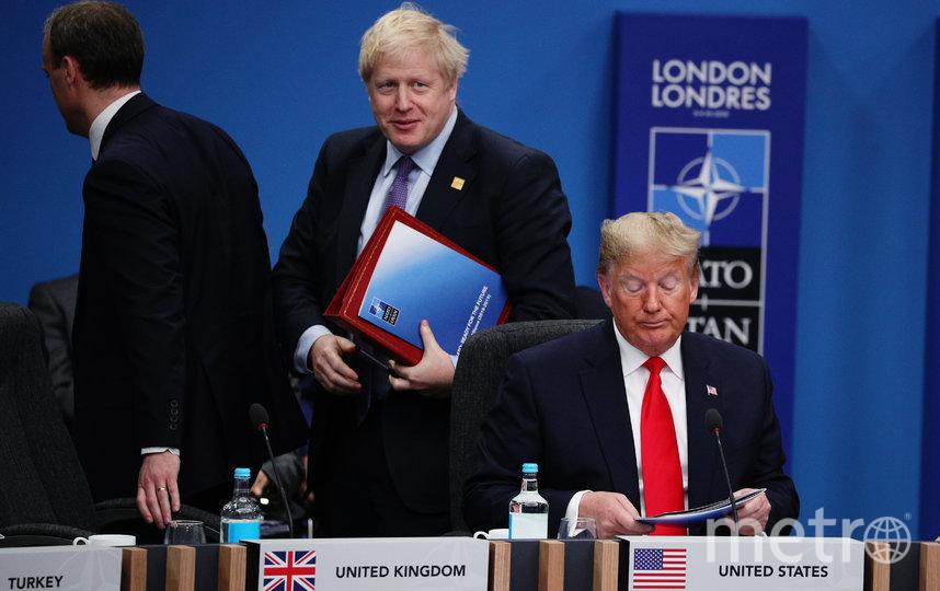 Борис Джонсон и Дональд Трамп. Фото Getty