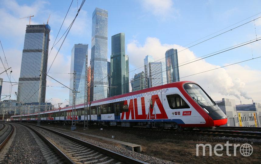 Главным событием в развитии столичной транспортной инфраструктуры стал запуск первых двух Московских центральных диаметров. Фото Василий Кузьмичёнок