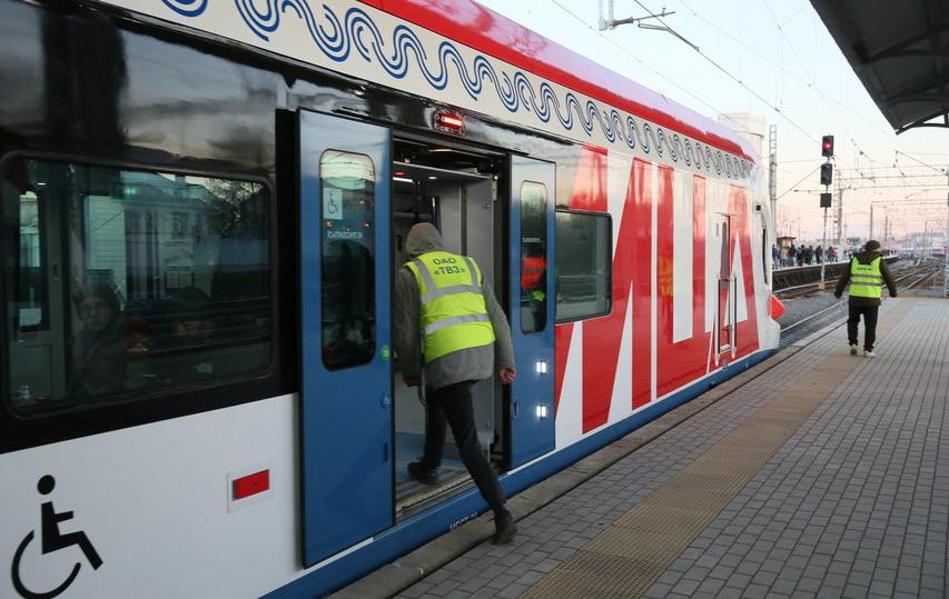 В Москве движение поездов на МЦД-2 восстановлено после сбоя. Фото Василий Кузьмичёнок