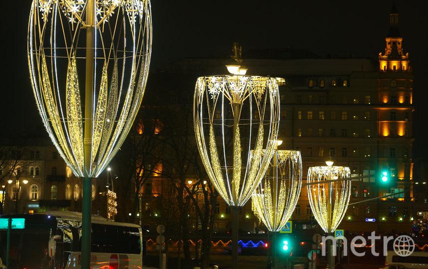В центре Москвы 25 декабря начнут ограничивать движение. Фото Василий Кузьмичёнок