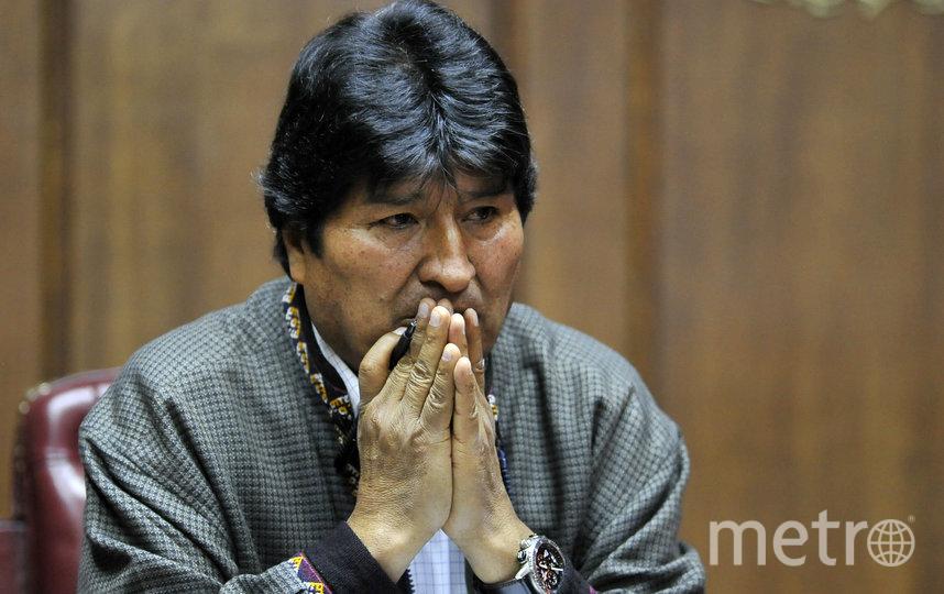 Эво Моралес. Фото AFP