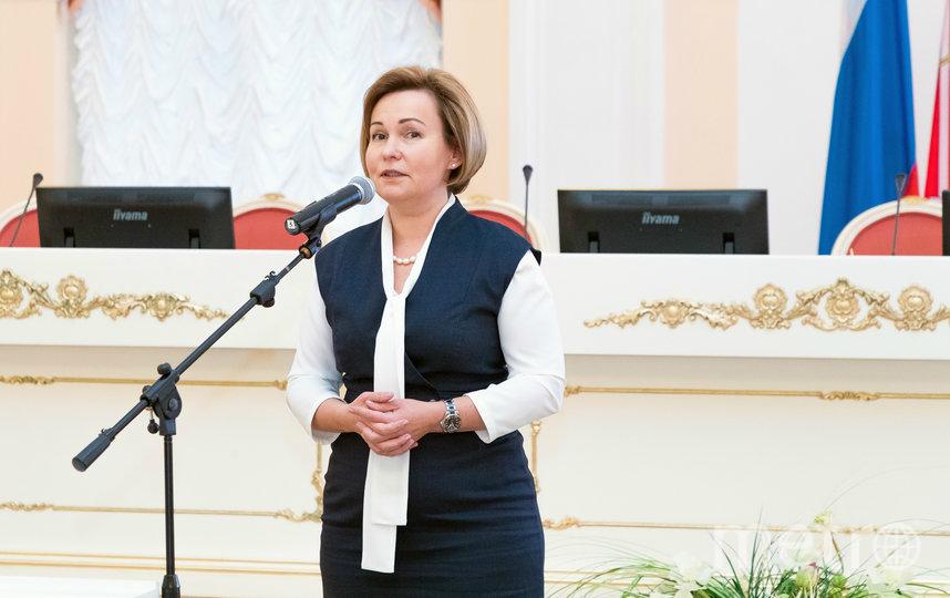 """Вице-губернатор Анна Митянина. Фото www.gov.spb.ru, """"Metro"""""""