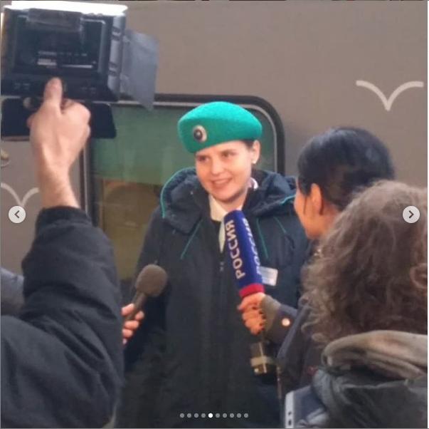 "Фото поезда ""Таврия"". Фото https://www.instagram.com/ilya_vorobyov_89/, ""Metro"""