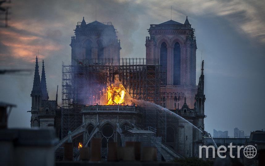 За пожаром в соборе Парижской Богоматери следил онлайн весь мир. Фото Getty