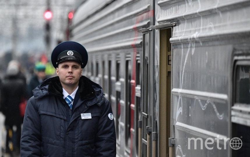 Первый поезд из Москвы в Крым отправится с Казанского вокзала. Фото РИА Новости