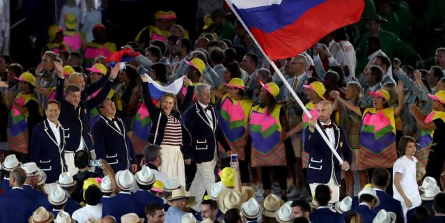 Россию снова лишили флага.