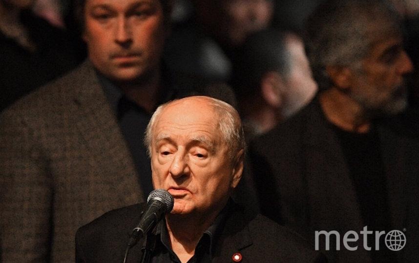 Марк Захаров. Фото РИА Новости