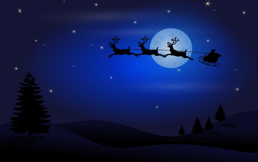 Санта-Клаус отправился в путь. Фото pixabay.com