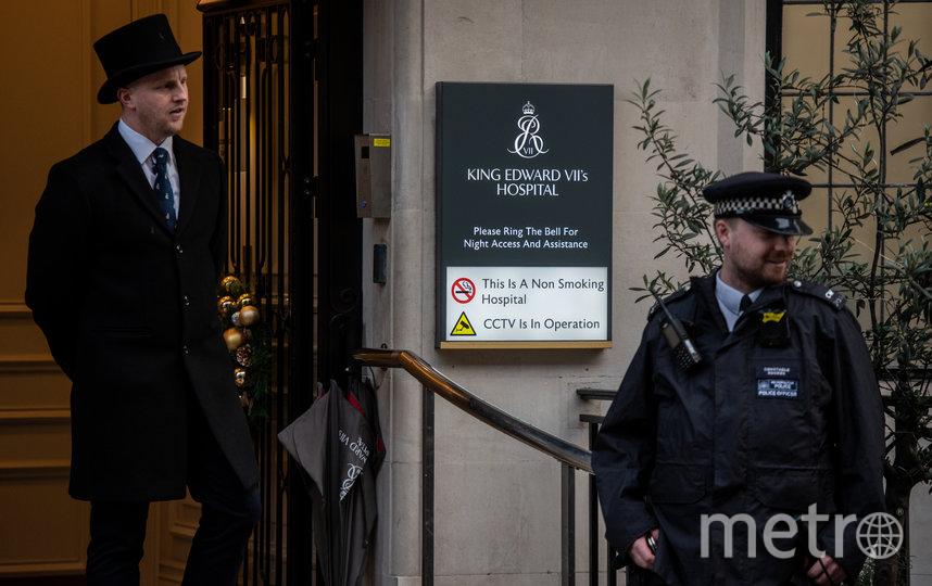 Больница короля Эдуарда VII в Лондоне, 20 декабря 2019. Фото Getty