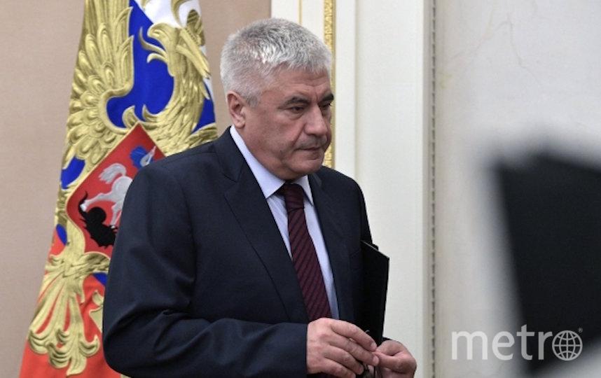 Владимир Колокольцев. Фото РИА Новости