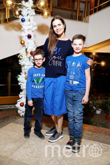 Наталья Лесниковская, актриса, мама Марка (6 лет) и Егора (8 лет). Фото предоставлено агентом Натальи Лесниковской