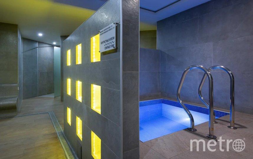 Отель включает в себя SPA-комплекс и термальную зону. Фото предоставлено пресс-службой отеля Green Flow