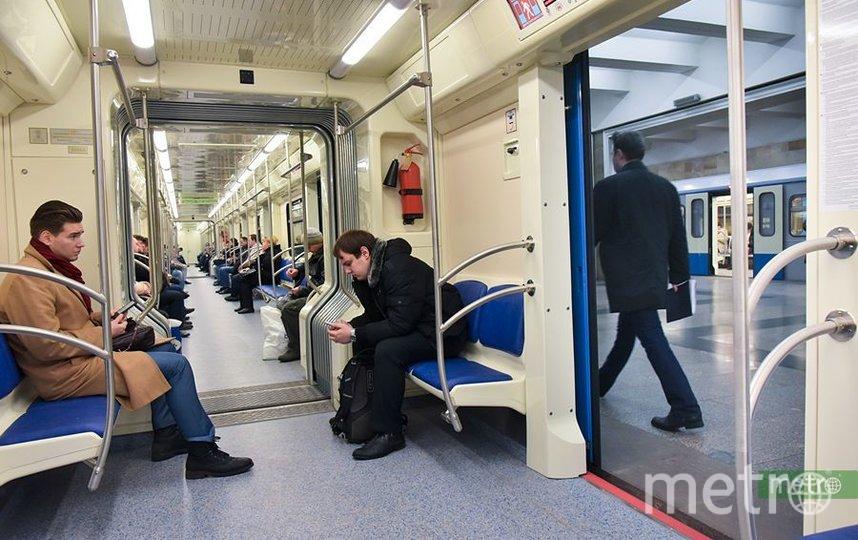 Движение на фиолетовой ветке метро в Москве ввели в график после сбоя. Фото Василий Кузьмичёнок