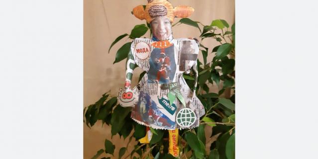 Ольга Потёмкина со своей куколкой оказалась в шаге от победы.