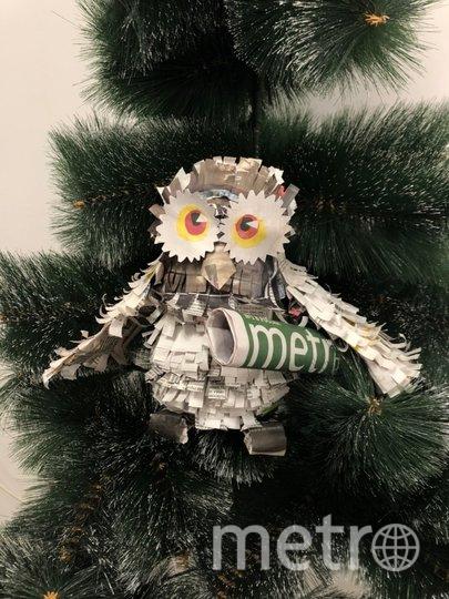 """Победительница Елена Мартынюк решила на одной игрушке не останавливаться и сделала ещё такую милую сову. Фото Елена, """"Metro"""""""